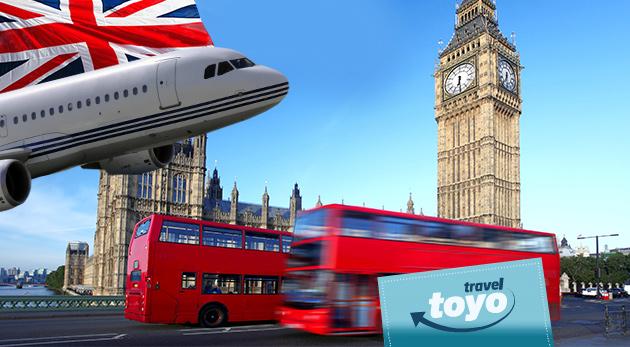 Skvelý 4-dňový letecký zájazd do Anglicka - spoznajte Londýn, Stonehenge a Oxford s CK Toyo Travel