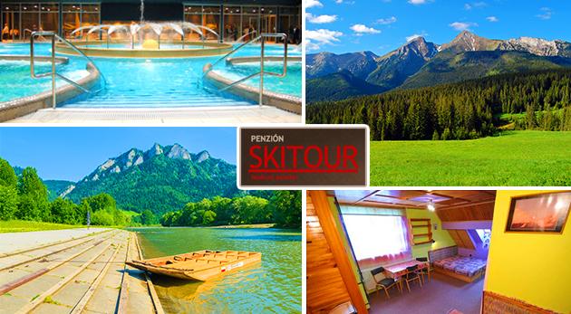 Oddych v letných Vysokých Tatrách v Penzióne Skitour**+ na 2, 3 alebo 4 dni