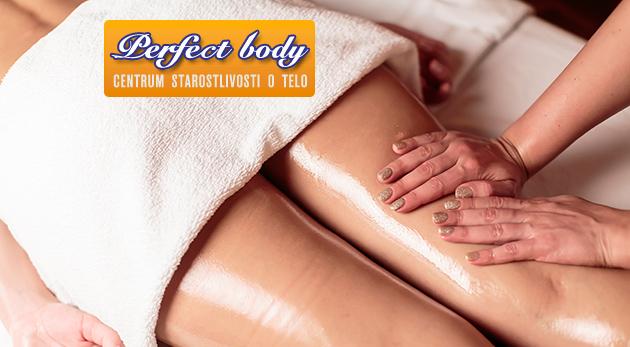 Hodinová anticelulitídna masáž pre 1 osobu za 12€