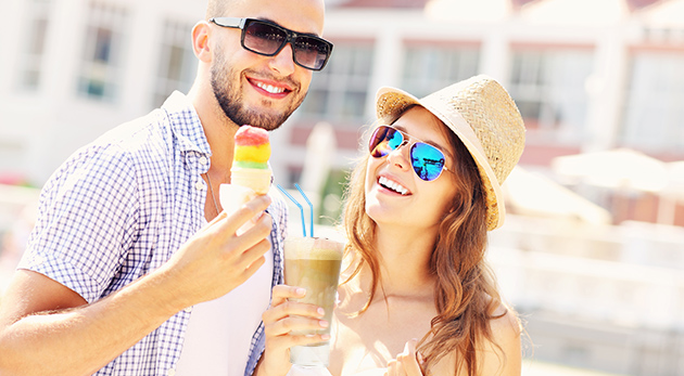 Výborná zmrzlina a ľadová káva v Caffe Paradiso v bratislavskom Starom Meste