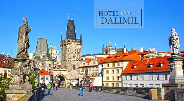 Hotel Dalimil*** na pražskom Žižkove neďaleko historického centra na 3 alebo 4 dni s raňajkami