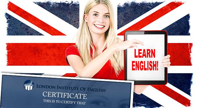 Online kurz anglického jazyka v London Institute of English v pohodlí vášho domova vrátane certifikátu