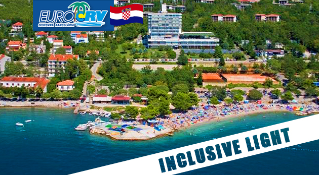 Zažite leto v obľúbenom Chorvátsku - pavilóny Omorika v Crikvenici