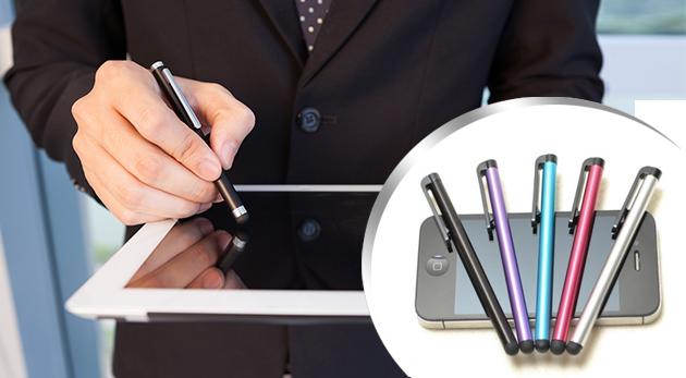 Dotykové perá na váš tablet či smartfón - 2 alebo 4 ks