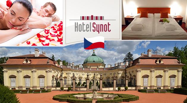 Letný wellness relax v Hoteli Synot*** na Morave s voľným vstupom do hotelového aquacentra a saunového sveta