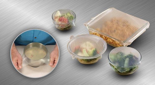 Silikónové pokrievky - štyri kusy pre plnosť chuti