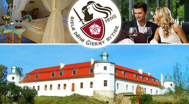 Letný relax plný romantiky v historickom kaštieli Biela dáma a Čierny rytier na Spiši