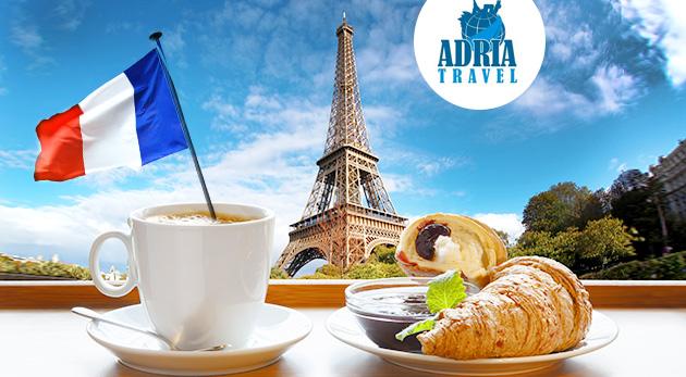 Úžasne romantický 5-dňový zájazd do Paríža s CK Adria Travel s dopravou, hotelovým ubytovaním a raňajkami