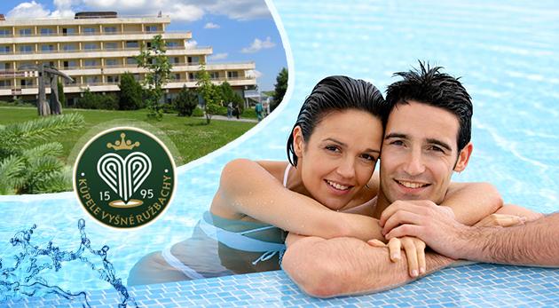 Relaxačný pobyt v Hoteli Travertín v Kúpeľoch Vyšné Ružbachy so vstupmi do Vitálneho sveta