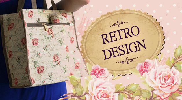 Štýlové peňaženky a kabelky v retro štýle