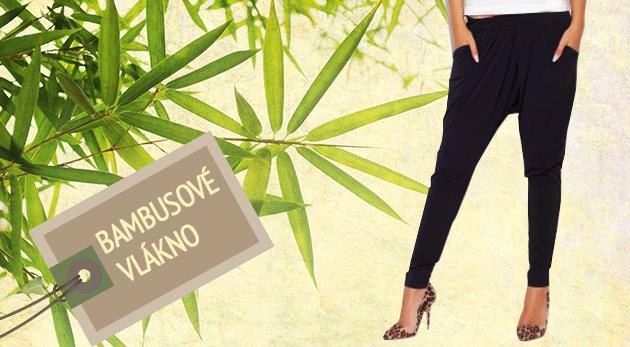 Štýlové dámske nohavice z bambusového vlákna pre maximálne pohodlie