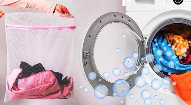 Praktické vrecká na pranie bielizne - 3 kusy v balení