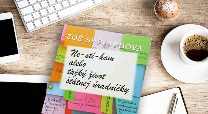 Fotka zľavy: Kniha Nestíham alebo ťažký život štátnej úradníčky od Zoé Shepardovej za 5,90 €. Prečítajte si vtipný bestseller, za ktorý bola autorka takmer vyhodená zo štátnej správy!