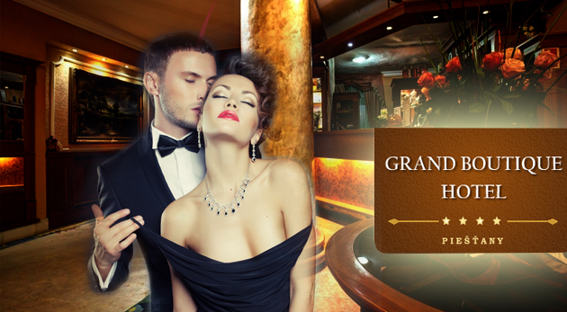 Romantický wellness pobyt pre vás a vašu polovičku v elegantnom Grand Boutique Hoteli Sergijo**** v Piešťanoch