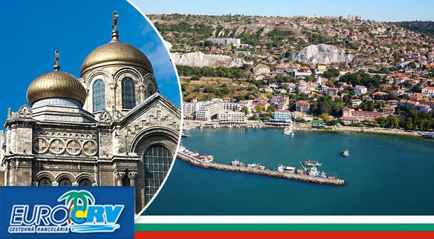 Letná 10-dňová dovolenka v slnečnom Bulharsku v Hoteli NANEV**