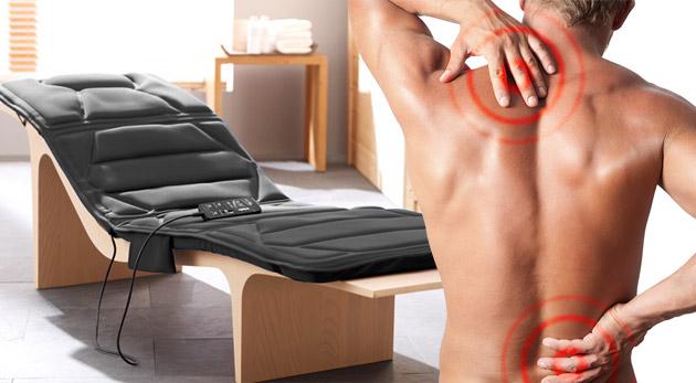 Masážna podložka s nahrievaním - účinné a príjemné riešenie na neutíchajúcu bolesť