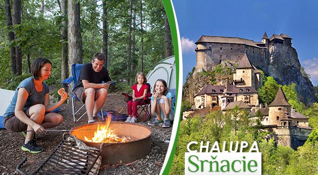 Oddych v tradičnej slovenskej drevenici na malebnej Orave až pre 10 ľudí - celý objekt súkromne