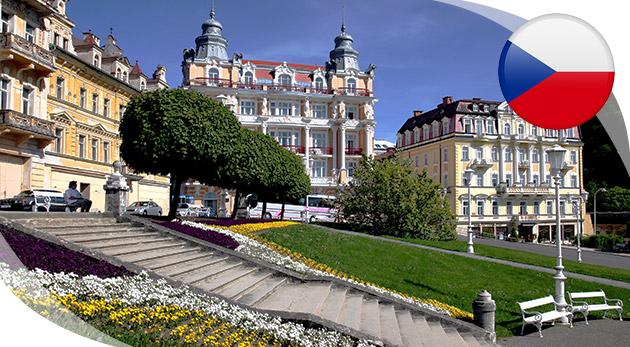 Relaxačný pobyt v Mariánskych Lázňach v Hoteli Kossuth*** s polpenziou a procedúrami