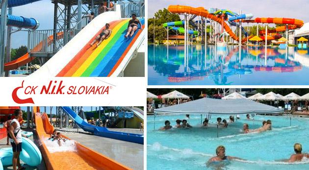 Letná dovolenka v areáli termálneho kúpaliska Vadaš v Štúrove na 4 alebo 5 dní so vstupmi do bazénov