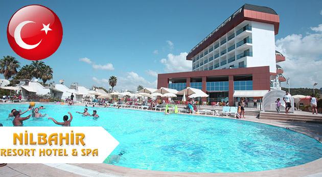 8-dňový letecký zájazd do Turecka do komplexu Nilbahir Resort Hotel & Spa***** s ULTRA ALL INCLUSIVE