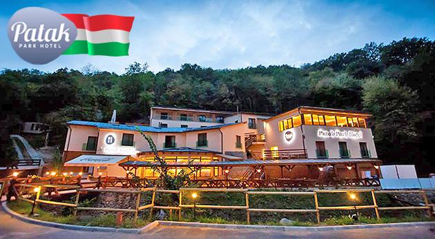 Relax pre dvoch v maďarskom Hoteli Patak Park v malebnom Vyšehrade s polpenziou a wellness