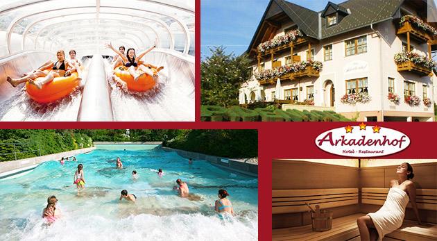 Zrelaxujte sa v Hoteli Arkadenhof*** v blízkosti najväčšieho aquaparku Rakúska