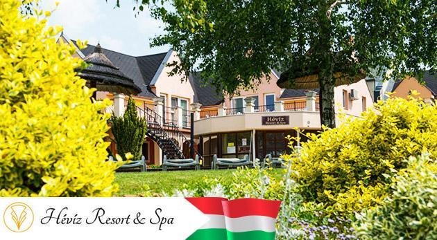 Oddych v maďarskom hoteli Hévíz Resort & SPA blízko svetoznámych kúpeľov s ALL INCLUSIVE a wellness