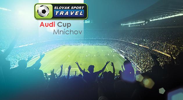 Autobusový zájazd na špičkový futbalový turnaj AUDI CUP v Mníchove - uvidíte mužstvá ako Real Madrid či Bayern Mníchov
