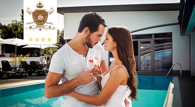 Letný relax plný romantiky a wellness v slnečných Piešťanoch v elegantnom Grand Boutique Hoteli Sergijo****
