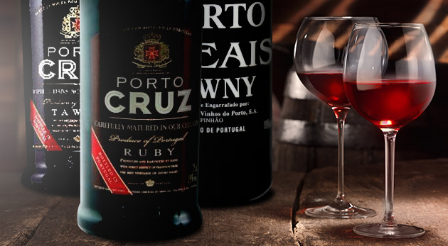 Lahodné portské víno priamo z Portugalska