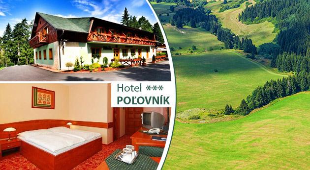 467727adc1 Relax v malebnom prostredí Národného parku Nízke Tatry v Hoteli Poľovník