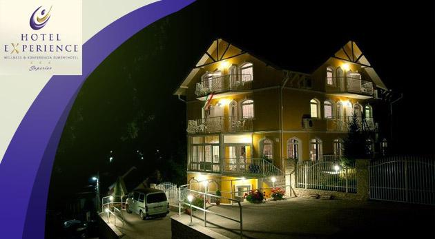 Wellness zážitok v maďarskom Hoteli Experience*** v Bukových horách s polpenziou a wellness