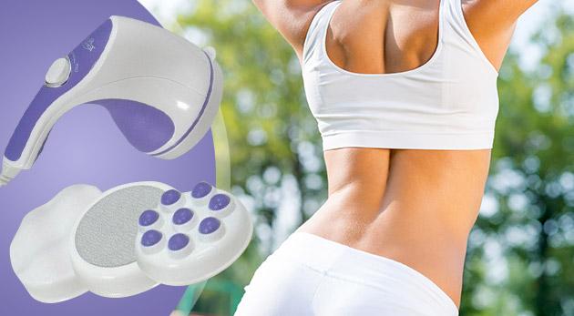 Masážny prístroj Relax and Spin Tone pre uvoľnenie aj chudnutie