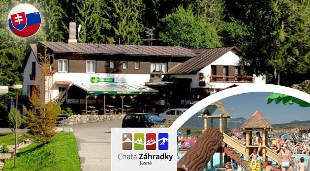 Oddych v horách v Chate Záhradky priamo v stredisku Jasná