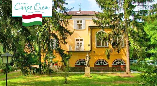 Až 5 dní pri maďarskom mori v Hoteli Carpe Diem pri Balatone