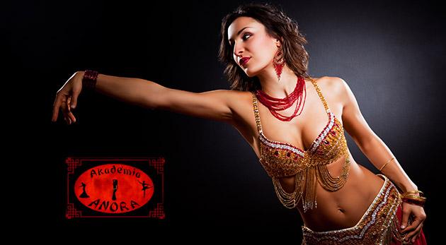 Kurz brušných tancov v Akadémii Anora v trvaní 8 týždňov