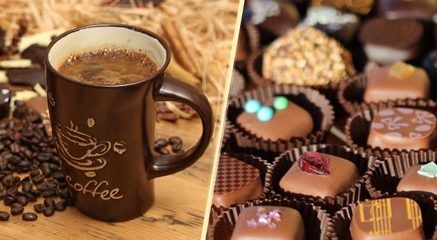 Čokoládové BIO pralinky v darčekovom balení alebo exkluzívna zrnková káva