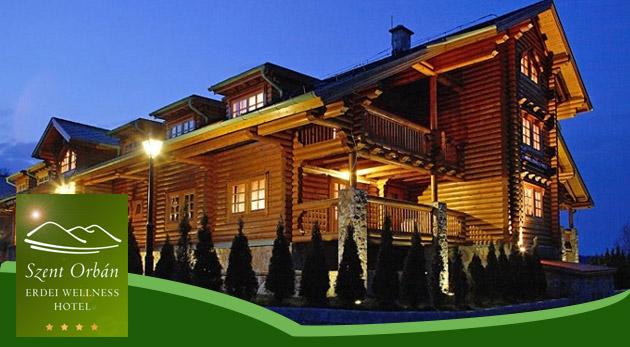 Tri dni v čarovnom Szent Orbán Erdei Wellness Hoteli**** v maďarskom Národnom parku Duna-Ipoly