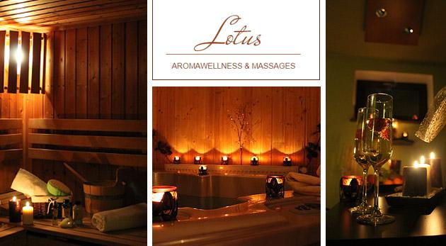 Privátne wellness v relaxačnom prostredí Lotus aromawellness & massages v Ružinove
