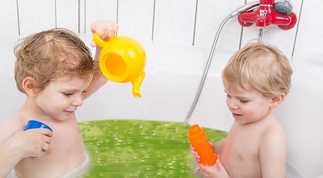 Gelli Baff alebo Gelli Baff Messy Play - zázračný prášok pre deti, ktorý premení vodu na farebný gél