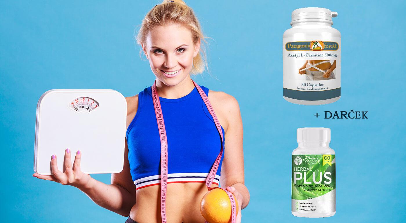 Účinný spaľovač tukov pre krásne telo L-karnitín - pri kúpe 3 balení získate darček v podobe Herbal Plus Komplex na očistu tela ZDARMA!