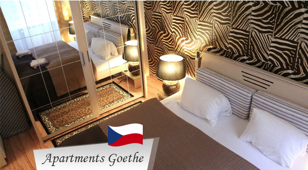 Relax pre dvoch v nádherných Karlových Varoch v štýlových Apartmánoch Goethe U Tří mouřenínu v centre
