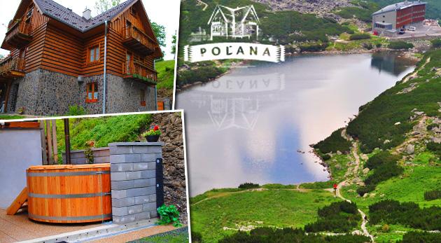 Letný relax v nádherných Pieninách v Penzióne Poľana s večerou, vstupom do jacuzzi aj balíčkom zliav