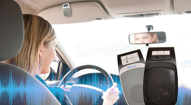 Handsfree do auta s USB nabíjačkou v elegantnom dizajne