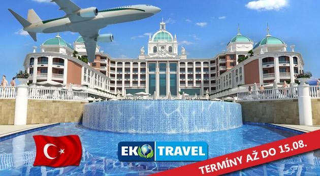 Letecký 8-dňový zájazd do luxusného hotela Litore Resort & SPA***** na Tureckej riviére s Ultra All Inclusive