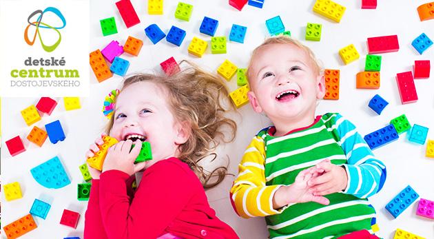 Jednodňová alebo mesačná starostlivosť pre deti v Detskom centre Dostojevského v bratislavskom Starom Meste
