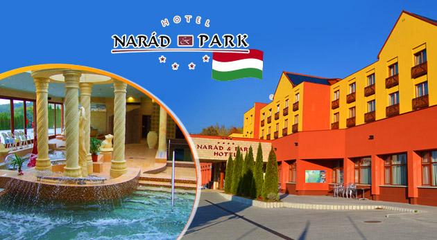 Úžasný wellness oddych v Hoteli Narád Park**** v krásnom prírodnom prostredí pohoria Matra v Maďarsku