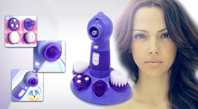 Prístroj na čistenie pleti a odstraňovanie akné, čiernych bodiek a upchatých pórov