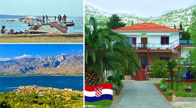 Letná dovolenka na malebnej Paklenickej riviére v Chorvátsku na 8 dní s polpenziou počas hlavnej letnej sezóny