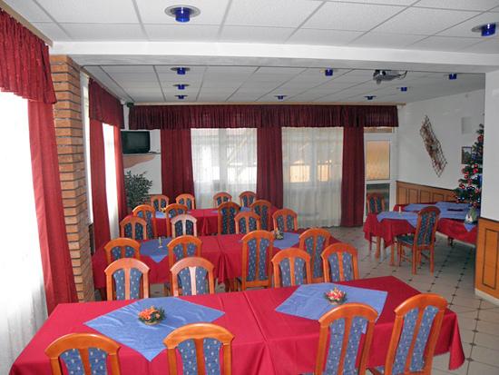 Penzión Centrum jedáleň